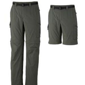 Columbia Silver Ridge Convertible Hiking Pants 32
